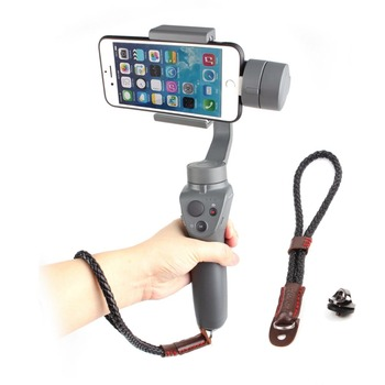 Hand Wrist Strap Lanyard for DJI OSMO Mobile 2 3 ZHIYUN Smooth 4 FEIYU Moza Gimbal Stabilizer Safe Sling Holder Mount Protector