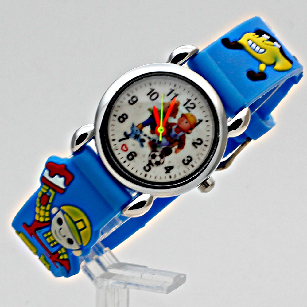 Fashion 3D Child Watch Silicon Cartoon Børn Sport Watch Boy Quartz - Børneure - Foto 1