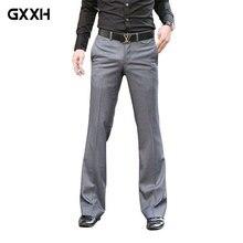 Корейская версия талии шепот брюки мужские модные повседневные брюки Тонкий костюм брюки Висячие брюки размер 28-36