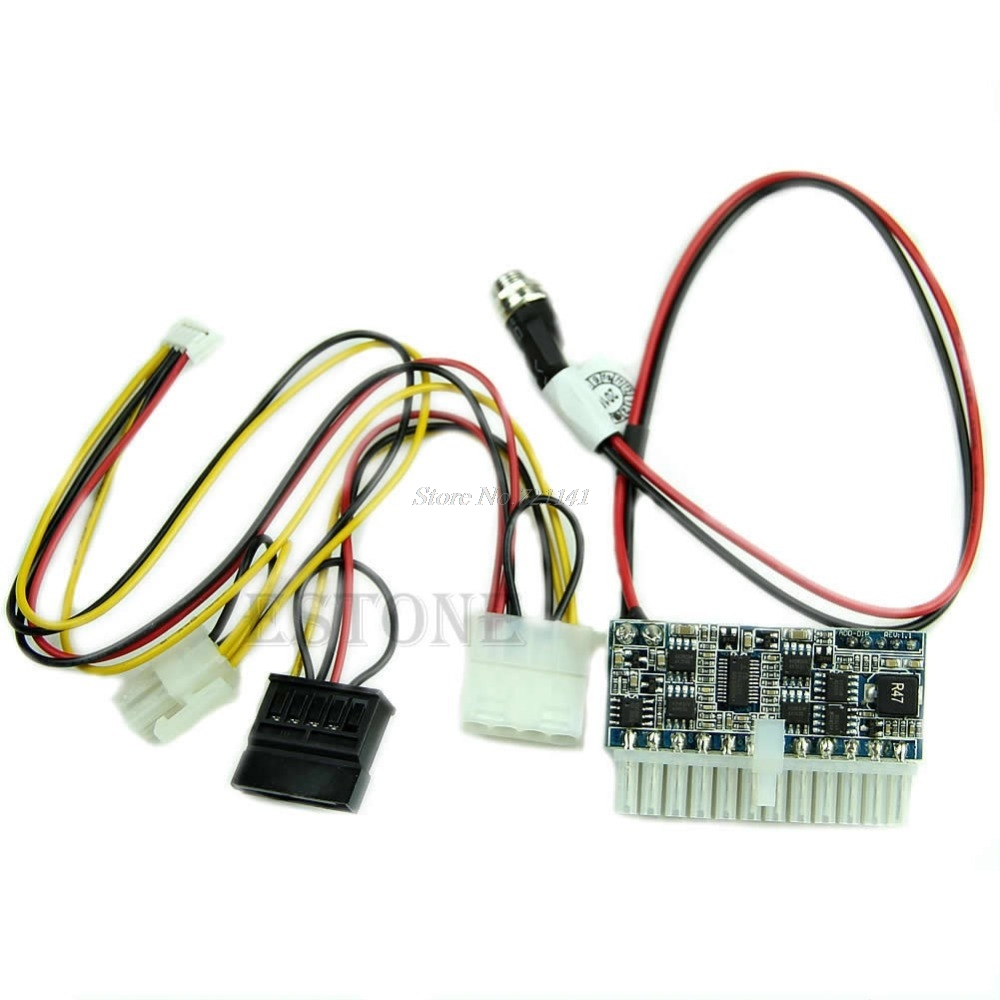 DC 12V 160W 24Pin <font><b>Pico</b></font> <font><b>ATX</b></font> <font><b>Switch</b></font> <font><b>PSU</b></font> Car Auto for Mini ITX High Power Supply Module Dropship image