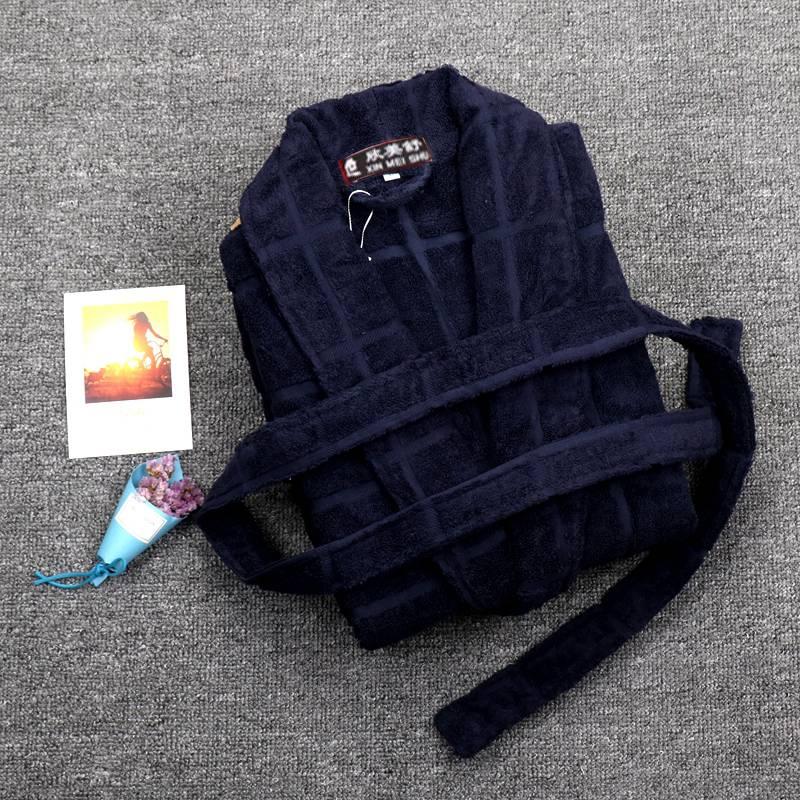 Motiviert Winter Bademantel Männer Baumwolle Dick Terry Handtuch Fleece Robe Herren Bademäntel Pyjamas Kimono Morgenmantel Hochzeit Brautjungfer Roben Ausreichende Versorgung