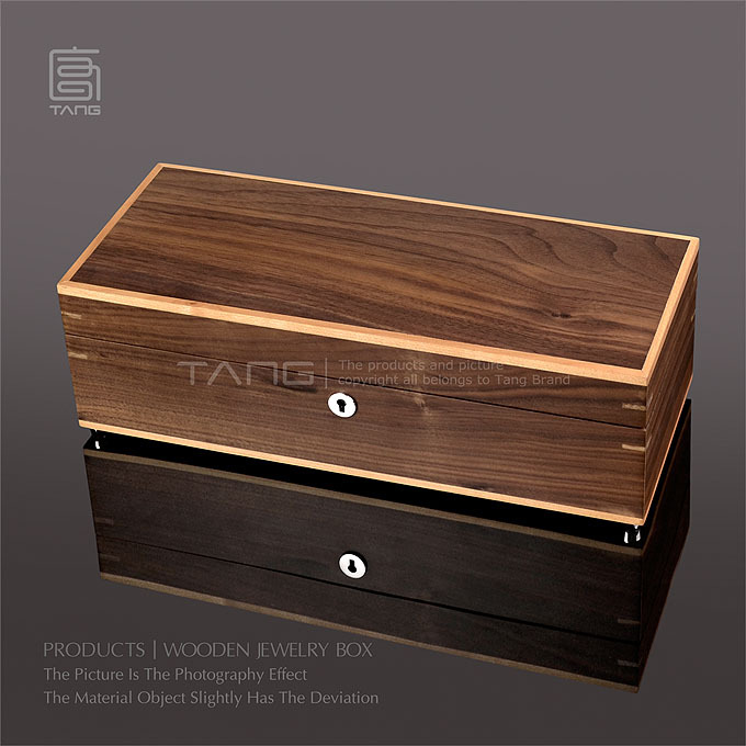 Top Rated 2015 New Fancy Men Jewelry Display Storage Box CaseTANG