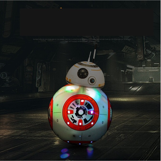 Star Wars RC toy BB-8 Robot Star Wars 2.4G remote control BB8 robot intelligent small ball Action Figure Toys Christmas Gift