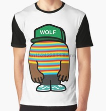 fea0e05cea97 All Over Print T-Shirt Men Funy tshirt Tyler Wolf Creator Short Sleeve  O-Neck Graphic Tops Tee