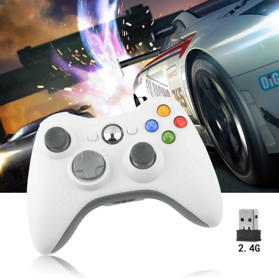 <font><b>Bluetooth</b></font> Wireless <font><b>Joystick</b></font> Handle Game Controller For Microsoft Xbox 360 <font><b>PC</b></font>