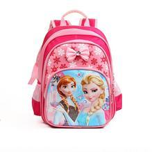 REGALO libre Anna Elsa Niños Bolsa Mochilas escolares Niñas Mochila Niños mochila escolar Mochila de Moda para Personajes de Dibujos Animados infantil