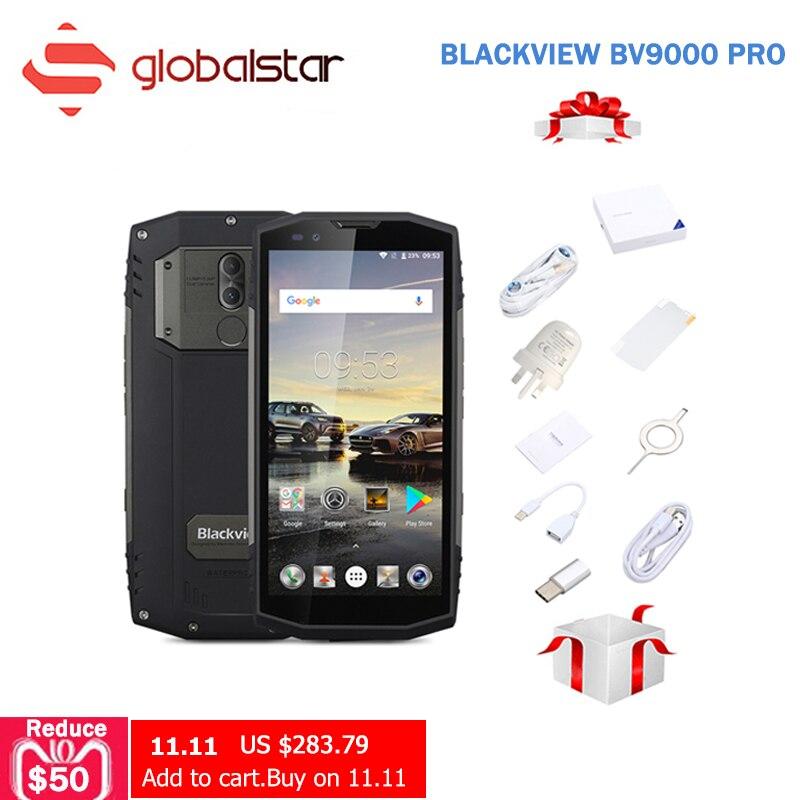 Blackview BV9000 Pro Smartphone 5.7 18:9 FHD + Plein Écran IP68 Étanche 6 gb + 128 gb Helio P25 octa Core 4180 mah NFC Mobile Téléphone