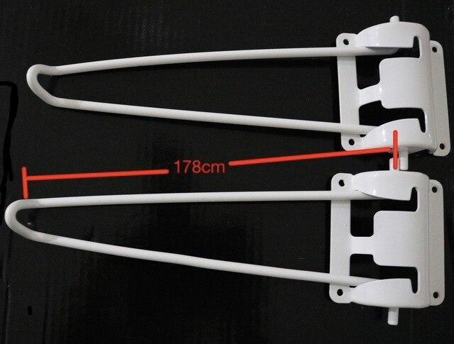 4 أجزاء/وحدة H: 178 مللي متر طاولة قابلة للطي الساقين دبابيس الشعر الساق المعدنية كمبيوتر محمول القهوة للطي