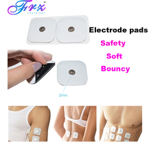 2pcs Electrode pads Electric Body Massage Adhesive Gel for Therapy Massager Pad Slimming