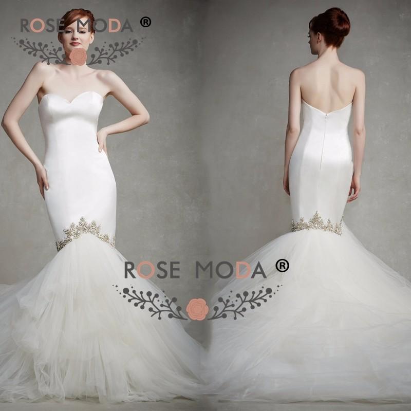 mermaid bridal gownc