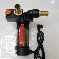 9.19New electric car outdoor agricultural irrigation pumps 12V24V48V stainless steel dish wells DC self priming pump
