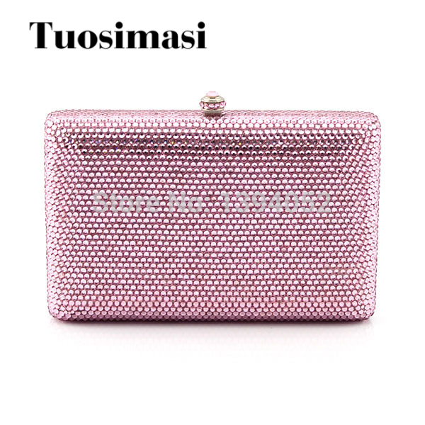 Delicate Crystal Women Wedding Clutch Bags style handbags women evening party bag famous brand luxury crystal clutch handbag women evening bag wedding party purses banquet