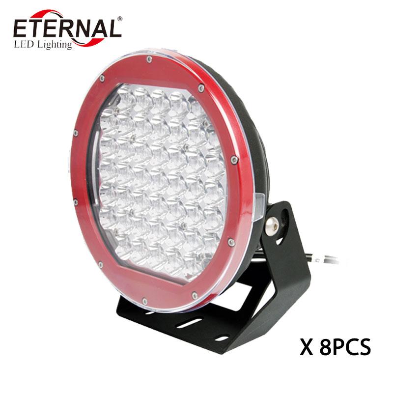 8pcs x 225W led work light ARB daymaker projector driving headlight for 4WD off road 4x4 ATV UTV truck trailer spot flood beam цена