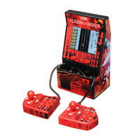 Mini Double Hand Held Gaming Console With 183 Games Device Retro Style Mini Classic Arcade Machine