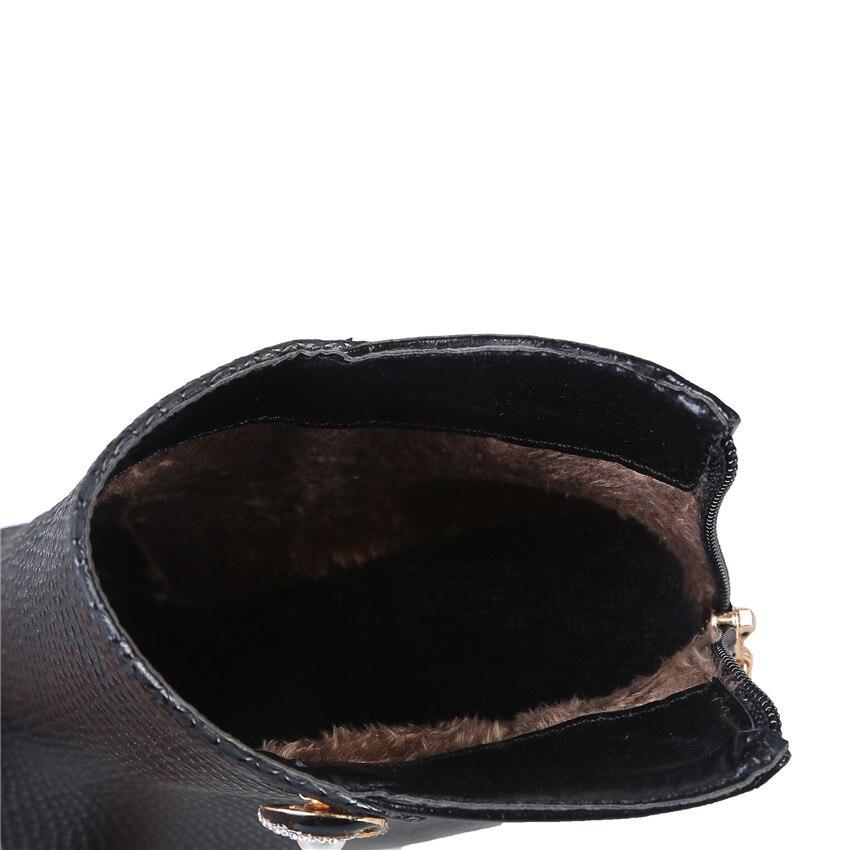44 Cheville Chaussures À 41 40 Courtes 42 blanc Petit 32 33 Femme Femmes Noir Plate forme Automne Printemps Hauts Taille 45 De La rouge 43 Talons Bottes 46 Plus Anq7xgwRX