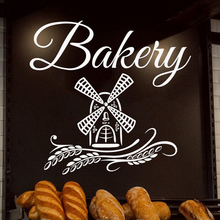 цена на Pastries Bakery Bread Pastry Cakes Biscuits Food Wall Decal Window Sticker Handmade A8-019