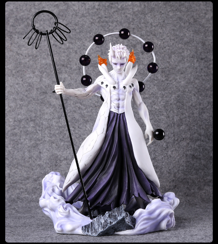 25CM Japanese Anime Naruto Figure Uchiha Obito Action Figure Collectible Model Toys naruto figure uchiha obito japanese anime pvc 9 84