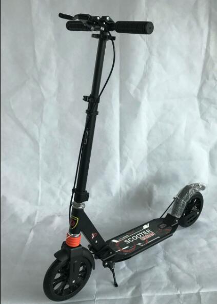 Adulte scooter skateboard 2 roues facile à plier hauteur 1.3-1.85 m pour adultes enfants livraison gratuite