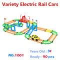 Бесплатная доставка, Разнообразие собрал, Многослойные дороги, Городской электрический вагонов, Развивающие игрушки, Детский любимый подарок