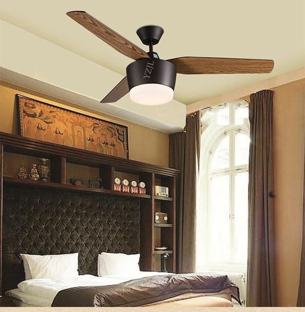 Ceiling Fan Lights Fan European Modern Minimalist Chic Restaurants Remote  Control Fan Ceiling Lamp American Fans