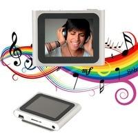 Portable Size 1 8 Inch LCD Screen Display 6th Generation Music Media Video Movie FM Radio