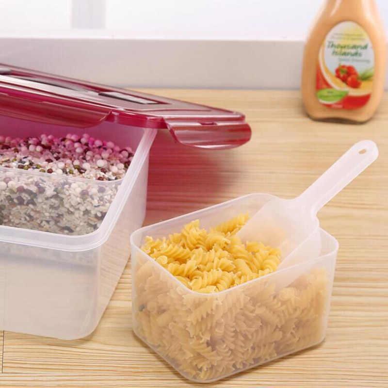1pc プラスチックアイスシャベル台所小麦粉食品キャンディアイスクリームスクープ pelles bonbons 豆スクープパーティービュッフェツール