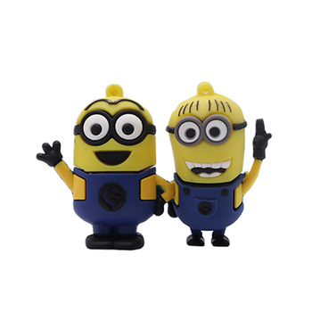 USB flash pendrive cartoon Minions pen drive 4G 8G 16G 32GB 64G new design memoria usb stick creative gift 128GB