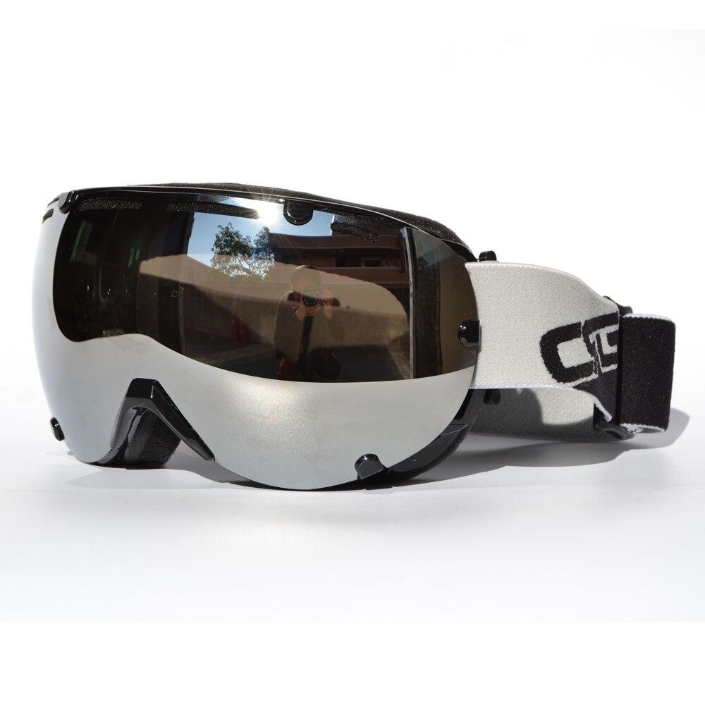 Bjmoto Вэнь женские лыжные очки двойные линзы UV400 Анти-туман катание на лыжах Сноуборд очки маска
