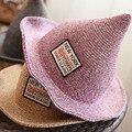 [DRESSUUP] Летние Шляпы для Женщин Соломы Пляж Шляпа Шпиль Ведьма Складной Солнцезащитный Крем Пляж Крышка chapeu сомбреро mujer verano feminino