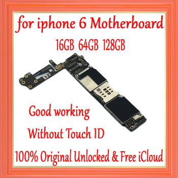 for iphone 6 4.7inch Motherboard without Touch ID,Original unlocked for iphone 6 Mainboard with IOS System,Good Working