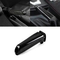 Car Carbon Fiber Hand Brake Set Cover Sticker for BMW X1 1 2 3 4 Series GT M4 G30 F30 F20 F10 E36 E39 E46 E60 E90 X5 E50