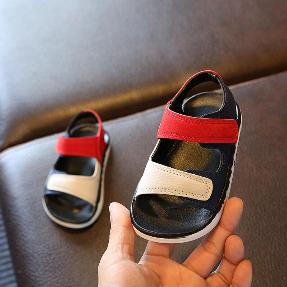 2019 New boy sandals for Children Kids Shoes Closed Toe Summer Beach Boys Girls Sandals Sneakers summer kids