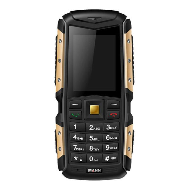 "Original 3g wcdma mann zug s 2.0 ""IP67 A Prueba de agua teléfono móvil a prueba de polvo a prueba de choques Al Aire Libre Anciano Resistente Dual SIM teléfono celular"