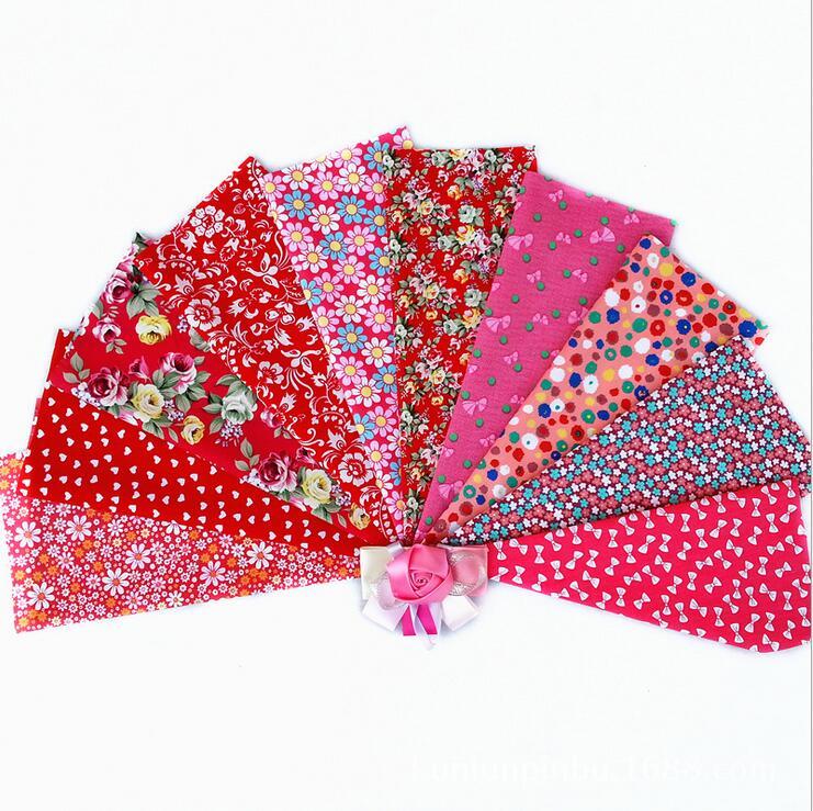 20pieces 20cmx30cm Fabric Stash Patchwork Fabric Quilting No Repeat Design Tissue Fat Quarter