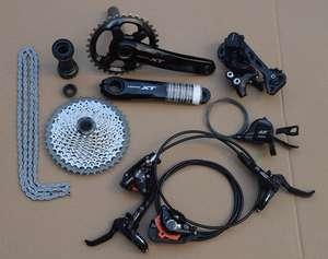 73e185eb198 shimano Deore XT M8000 Drivetrain bike bicycle mtb Group set Groupset 1x11  s 11