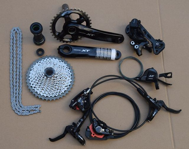 e1a49d38a5b shimano Deore XT M8000 Drivetrain bike bicycle mtb Group set Groupset 1x11s  11speed vs sram x0 x1 xx1