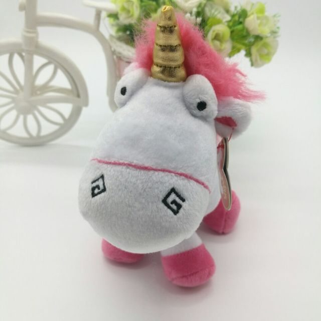 Ty Beanie Babies collection Plush Toy 18cm minion fluffy unicorn Kids Toy  Birthday Gift Stuffed Animal soft toy ea54283adf9