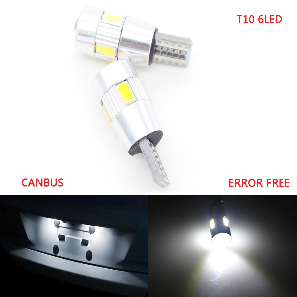 10X Car T10 6 LED 5630 W5W Clearance Parking Dome Festoon Wedge Light Car 5W5 Switchback LED C5W C10W Reading Light Xenon Auto 10pcs auto t10 5 led 1w 5050 w5w wedge door parking bulb light car 5w5 led dome festoon c5w c10w license plate light xenon drl