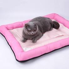 Cat Mat Pet Seasons Cotton Pad Cat Mat Nest Sleeping Summer Nest Bite Dog Cage Sleeping Mat Cat Cushion Cat Litter Mat Cat Beds цена