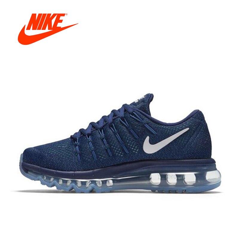 Оригинальный Новое поступление NIKE дышащая AIR MAX Для женщин кроссовки спортивные кроссовки