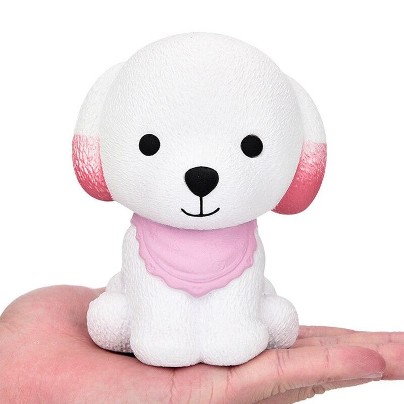 Puppy Squishy Antistress Small Dog Squeeze Toy Antistress Squishes Toy Slow Rising Stress Relief Smooshy Mushy Novelty Gag Toys