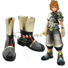 New Anime Kingdom Hearts Sora 2 Ventus Cosplay Shoes