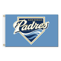 Blue San Diego Padres Flag World Series Champions Baseball Cub Fans Team Flags Banner 3x5ft Banners