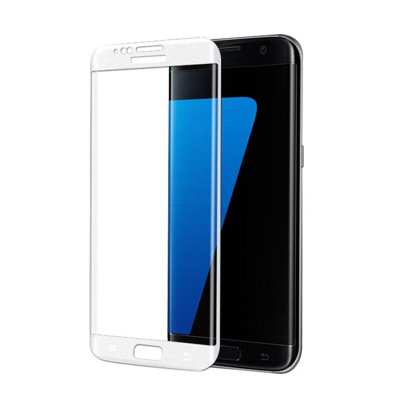 <font><b>FEMA</b></font> <font><b>Tempered</b></font> <font><b>Glass</b></font> <font><b>Screen</b></font> Film for Samsung Galaxy S7 edge G935 3D <font><b>Curved</b></font> Silk Print <font><b>Full</b></font> <font><b>Size</b></font> for Galaxy S7 edge <font><b>Tempered</b></font> <font><b>Glass</b></font>