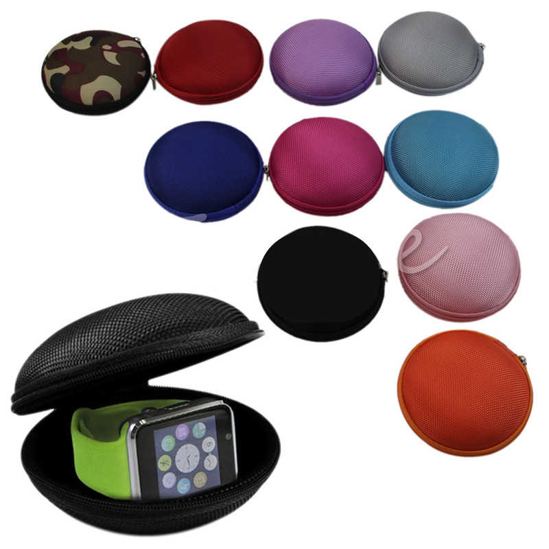 Mini Zipper Bag EVA Watch Earphones Pocket Boxes Storage Case USB Cable Watch Pouch