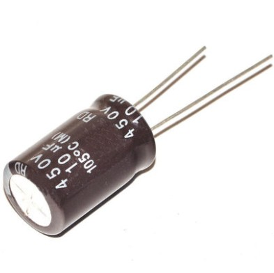 20P / LOT electrolytic capacitor 450V / 10UF volume 13 * 2010 microfarads 450 volt line aluminum electrolytic capacitors DIP