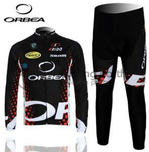 3D Silicone! ORBEA #2 2011 team long sleeve cycling jersey pants bicycle bike riding cycling autumn wear clothes set male team cycling jerseys autumn cycling clothes long sleeve bike jersey winter fleece bicycle riding suits free shipping