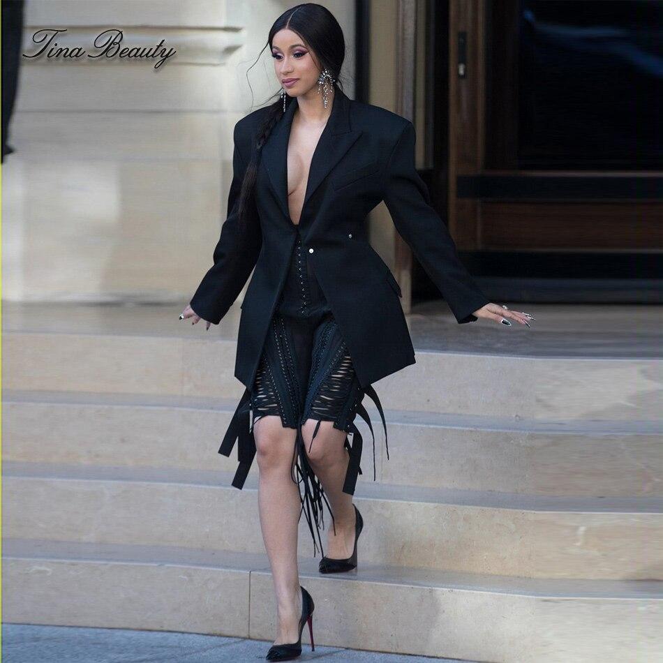 Cardi B No Clothing: Tina Beauty Cardi B Womens 2 Two Pieces Set Sexy Black