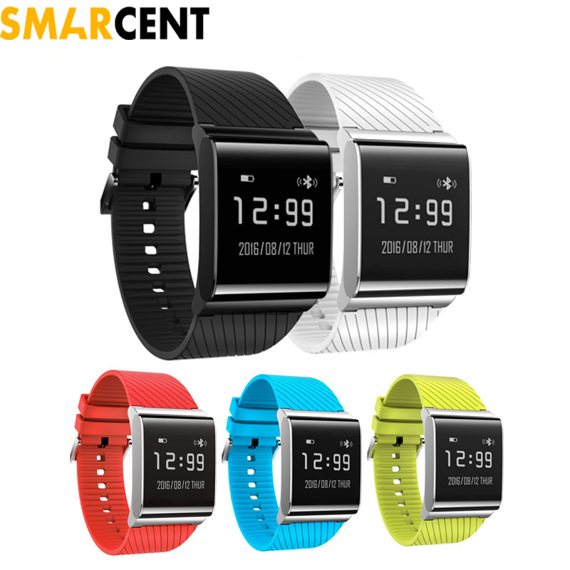 Smarcent X9 Plus Heart Rate Blood Pressure Oxygen Monitor Smart Bracelet Smart Band Wristband for Android 4.3 IOS 7.0 or above smart band a06 blood oxygen smartband heart rate monitor wristband fitness bracelet for android ios phone pk mi band 2