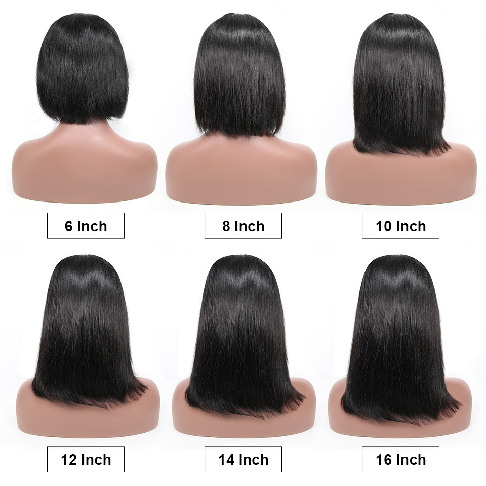 13x4 Short Lace Frontal Human Hair Bob Wigs XYHair Brazilian Remy Hair Straight Lace Front Wig 13x4 Short Lace Frontal Human Hair Bob Wigs XYHair Brazilian Remy Hair Straight Lace Front Wig for Women Pre Plucked Hairline
